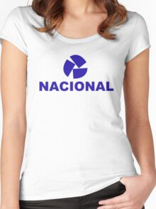nacional 1 Women's Fitted Scoop T-Shirt