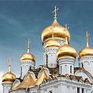 Kremlin Domes by Robert Dettman