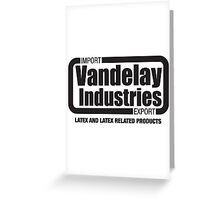 Vandelay Industries Seinfeld Spoof Shirts Greeting Card