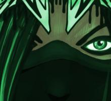 Wildstyle Crown -Green Sticker