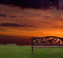 Sunrise on the Bay of Fundy, Nova Scotia by Harv Churchill