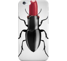 Coleóptero Carmín iPhone Case/Skin