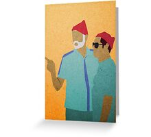 Zissou + Klaus Greeting Card