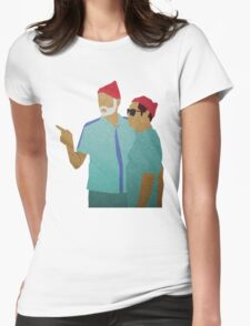 Zissou + Klaus Womens Fitted T-Shirt