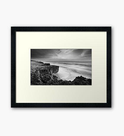 Broken Earth Framed Print