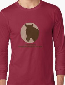 Thoroughbred of Sin Long Sleeve T-Shirt