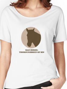 Thoroughbred of Sin Women's Relaxed Fit T-Shirt