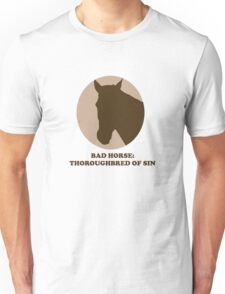 Thoroughbred of Sin Unisex T-Shirt