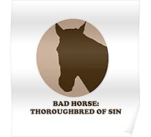 Thoroughbred of Sin Poster