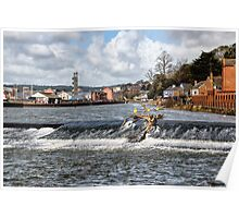 Trews Weir 2 - Exeter  Poster