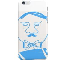 Butler with Mustache  iPhone Case/Skin