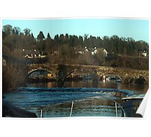Graiguenamanagh bridge Kilkenny Ireland Poster