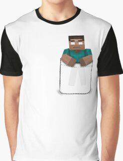 Minecraft: Pocket Herobrine Graphic T-Shirt