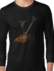 Vampir Guitar Long Sleeve T-Shirt