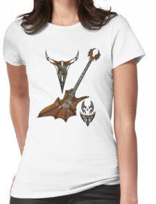 Vampir Guitar Womens Fitted T-Shirt