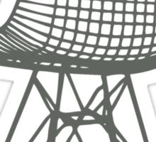 Eames Wire Chair Sticker