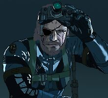 Snake from Metal Gear Solid V Ground Zeroes by Waffleman20000