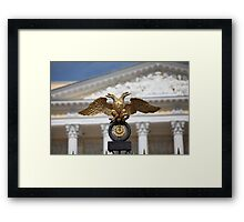 double headed eagle Framed Print