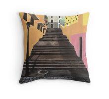 Escalones de San Juan Throw Pillow