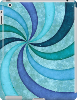 iPad Swirls  by Anita Pollak