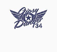 Gipsy Danger Blue Faded Men's Baseball ¾ T-Shirt