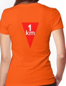 Flamme Rouge  Womens Fitted T-Shirt