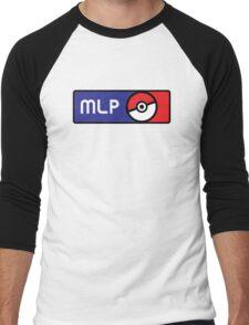 Major League Pokemon v2 Men's Baseball ¾ T-Shirt