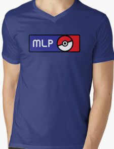 Major League Pokemon v2 Mens V-Neck T-Shirt
