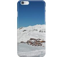 Snow Village from Above iPhone Case/Skin