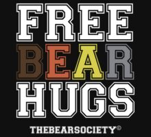 Free Bear Hugs by TheBearSociety