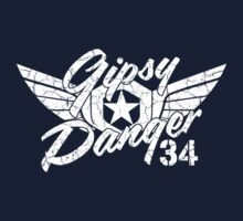 Gipsy Danger White Faded by AngryMongo