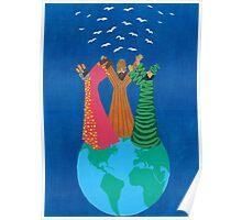 Paz en la Tierra Poster