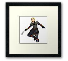 Delphine Framed Print