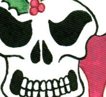 2013 Holiday ATC 10 - Santa Skull Sticker