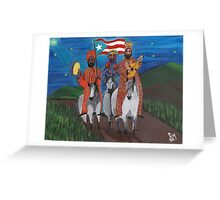 Los Tres Reyes Greeting Card