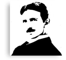 Nikola Tesla Portrait Canvas Print