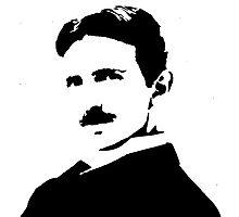 Nikola Tesla Portrait Photographic Print