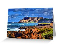 El Morro Greeting Card