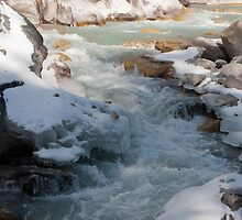 The dudh kosi river  by Kelly Eaton