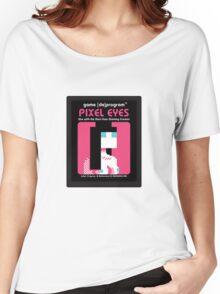 Pixel Eyes Atari Cartridge Women's Relaxed Fit T-Shirt