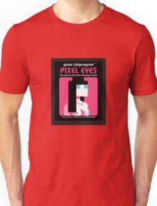 Pixel Eyes Atari Cartridge Unisex T-Shirt