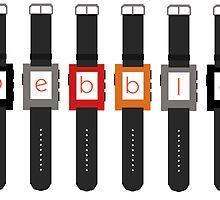 Pebble Smartwatch by MrPixelArtist