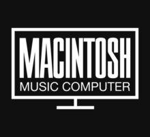 Macintosh Music Computer One Piece - Short Sleeve