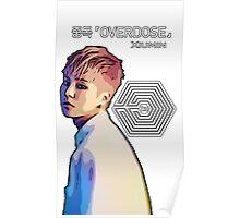 Exo Overdose Xiumin - White  Poster