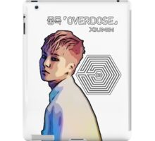 Exo Overdose Xiumin - White  iPad Case/Skin