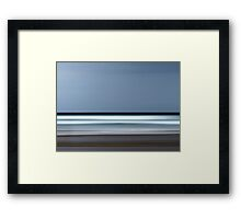 Keep your eye on the Horizon Framed Print