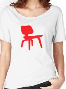 Eames Lounge Chair Wood Women's Relaxed Fit T-Shirt