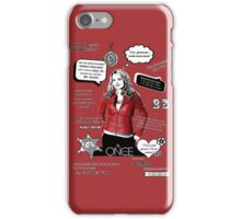 EMMA SWAN T iPhone Case/Skin