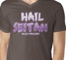 Hail Seitan Mens V-Neck T-Shirt