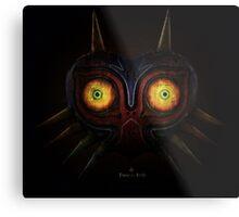 Legends of Zelda Majora's Mask Time's End Metal Print
